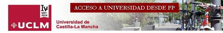 ACCESO A UNIVERSIDAD DESDE FP 12